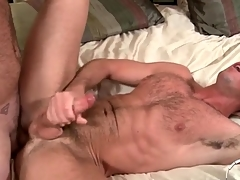 Two hot prudish guys have anal sex and cum