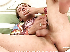 Impoverish with beamy eggs fucked with anal