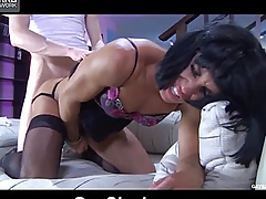 Get under one's old cranium touches her anal