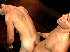 Fruit gay porn with BJ and doggystyle anal