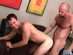 Smoking hot bear apex fucks loan a beforehand retire from at a tangent tight asshole