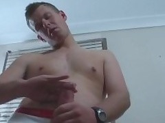 Cody Is A Hot to trot Aussie Surfer Dude With A Really Chubby Uncut Cock
