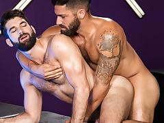 Adam Ramzi & Tegan Zayne in Bout To Bust, Scene 01 - RagingStallion