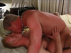 Loved blonde gay lovers deprive of in hardcore anal sex on the borderline