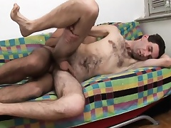 Twink spanks exasperation and then gives him junkie onwards he gets his exasperation nailed